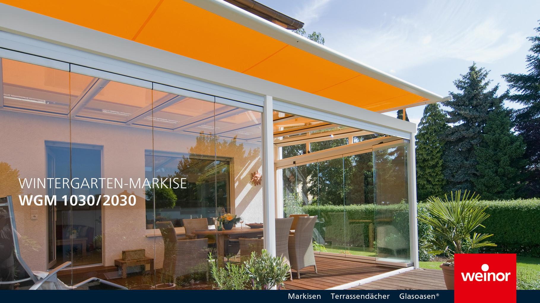 Wintergarten Markise W A Gmbh Rollladen Und Sonnenschutz