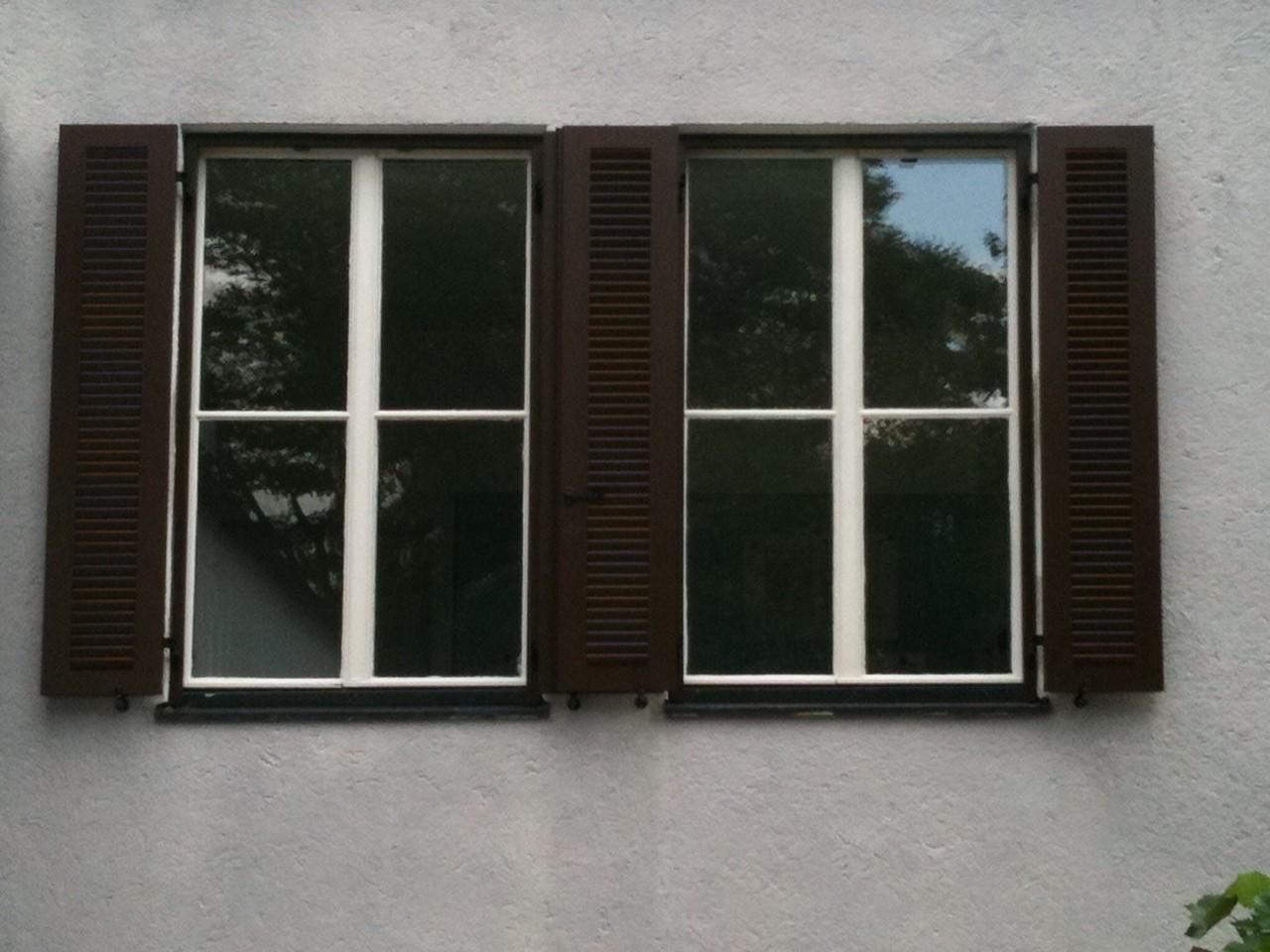 Fenster, Klappläden