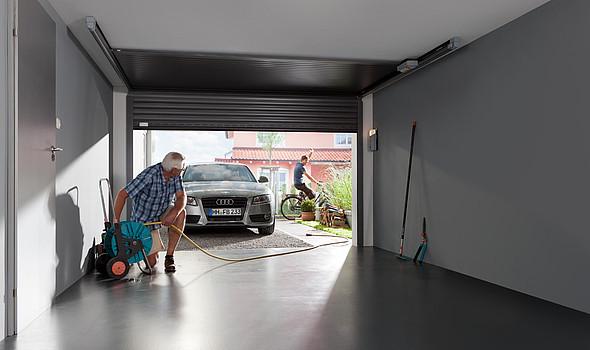 Roma Gecco; Ideal für Renovierungen geeignet. Durch die sehr kompakte Bauweise ist GECCO perfekt für kleinere und schmale Garagen.