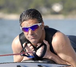 Schwimmcoach Steve Tarpinian.