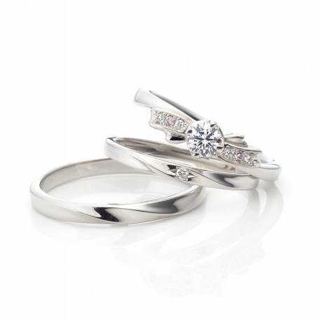 婚約指輪、セットリング、ヴィヴァ―ジュ6