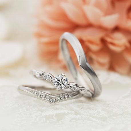 婚約指輪、セットリング、ヴィヴァ―ジュ2