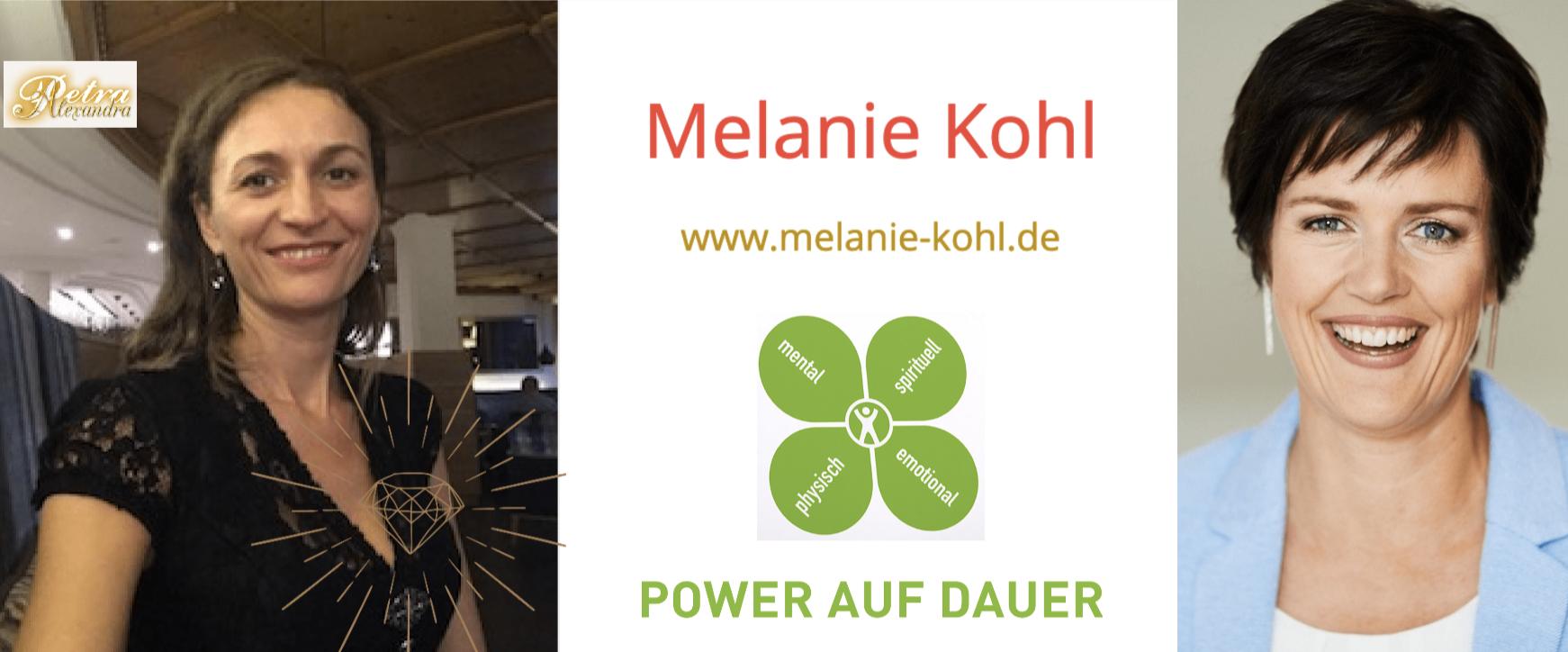 Melanie Kohl: Power auf Dauer