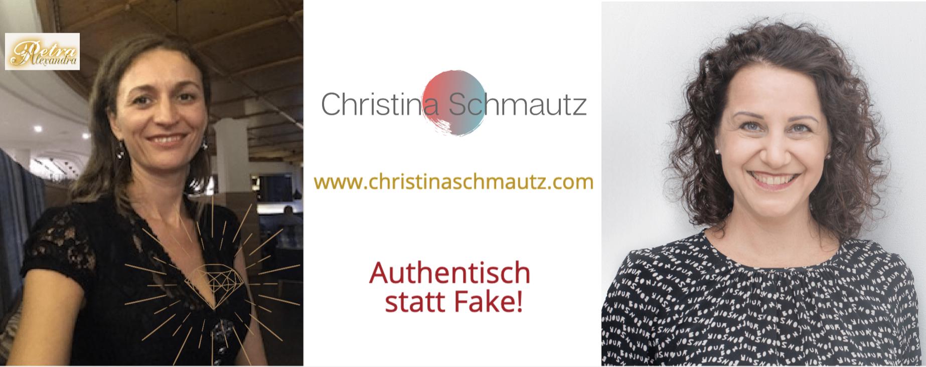 Authentisch statt Fake: Christina Schmautz