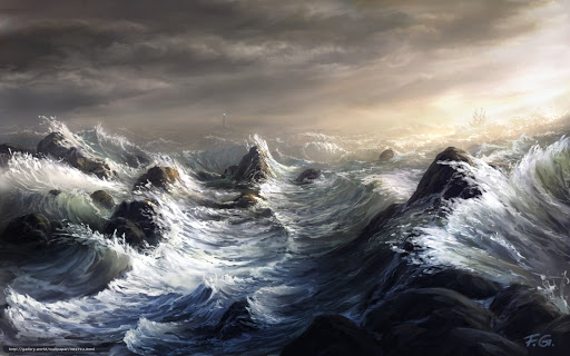 Jesus stillt den Sturm