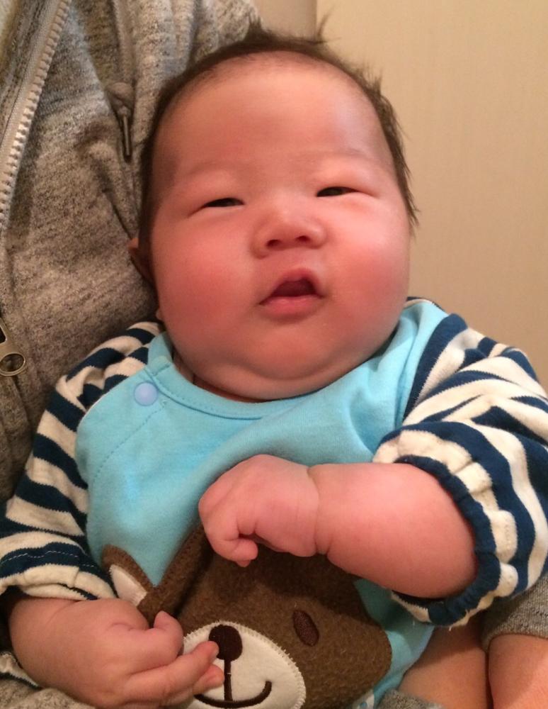 11月☆久々の特別出演で(笑) 庄内町の新葉くん1ヶ月!