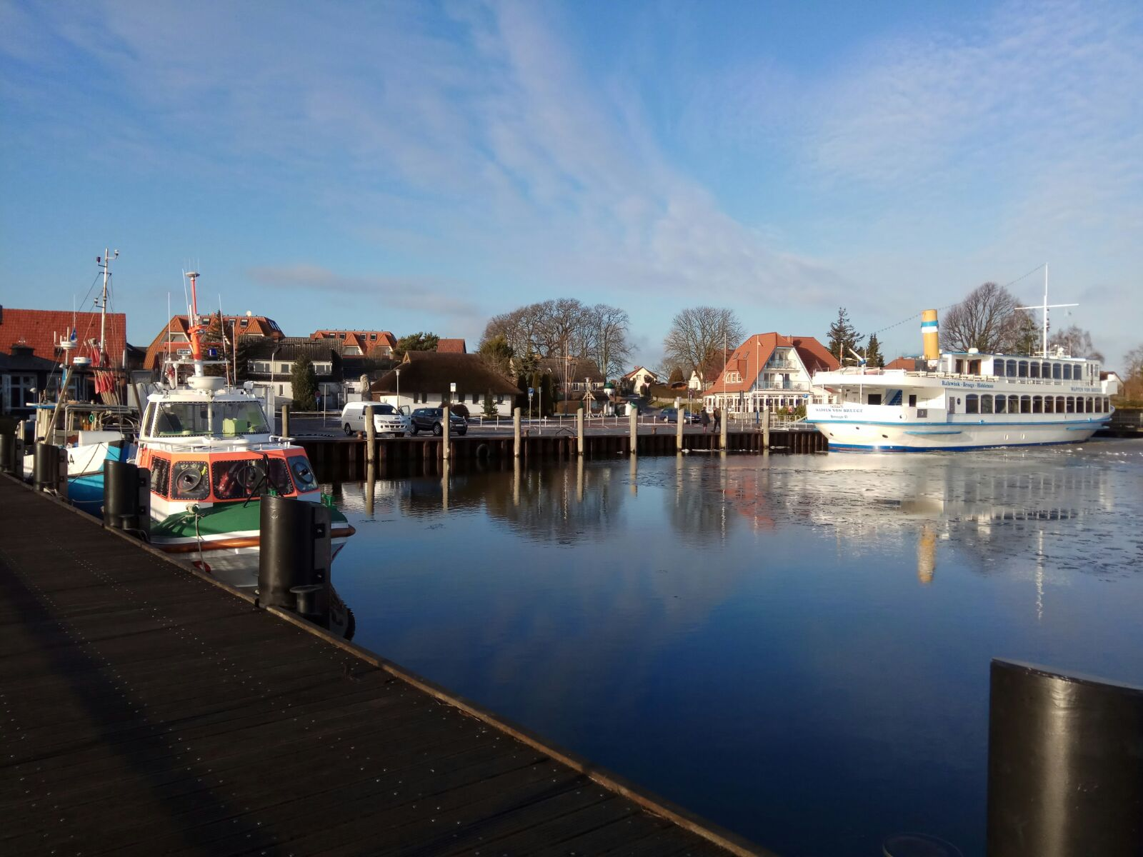 Hafen in Breege