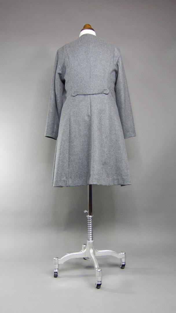 Mantel Emma - Rückenansicht