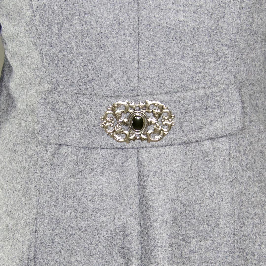 Mantel Emma - breiter Riegel mit abgerundeten Ecken