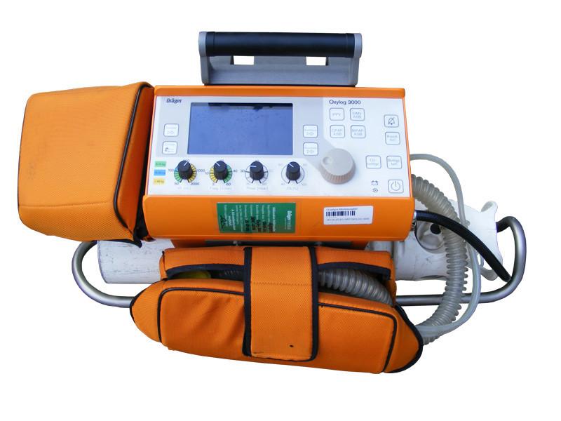 Intensivbeatmungsgerät Dräger Oxylog 3000