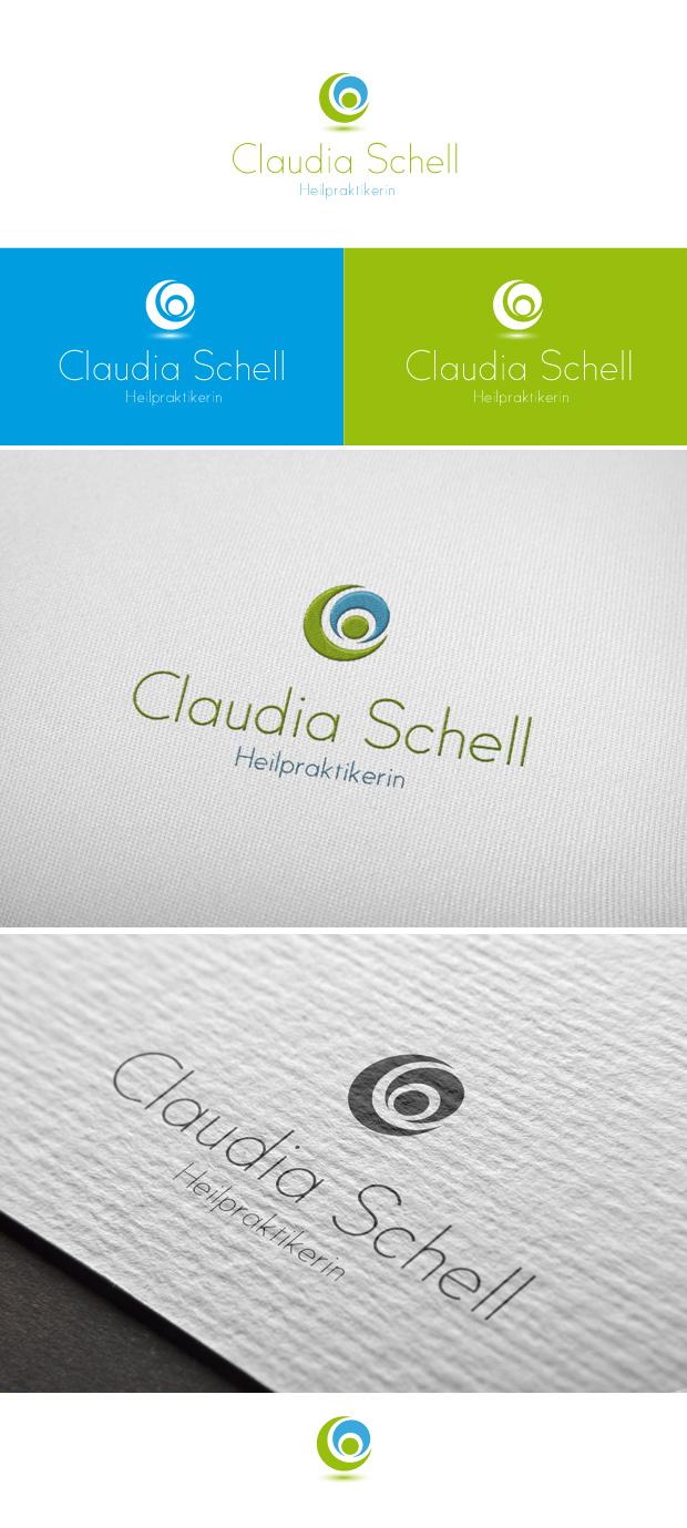 Claudia Schell Heilpraktikerin, Kappelrodeck - Logogestaltung