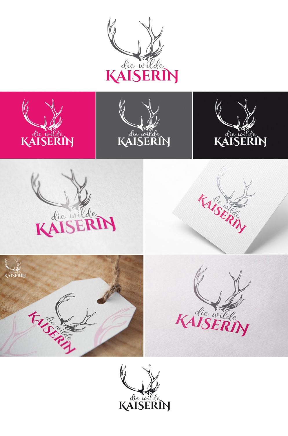 die wilde Kaiserin - Logogestaltung