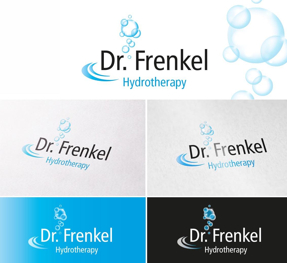 Dr. Frenkel, Engelswies - Logogestaltung