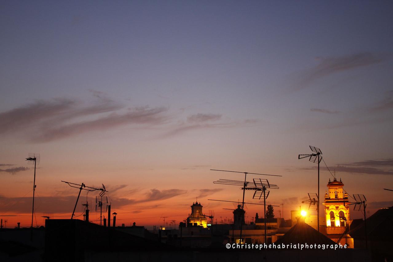 Séville - Sur les toits