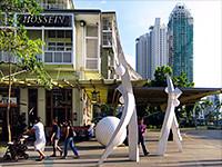 治安も良好なマニラ中心街