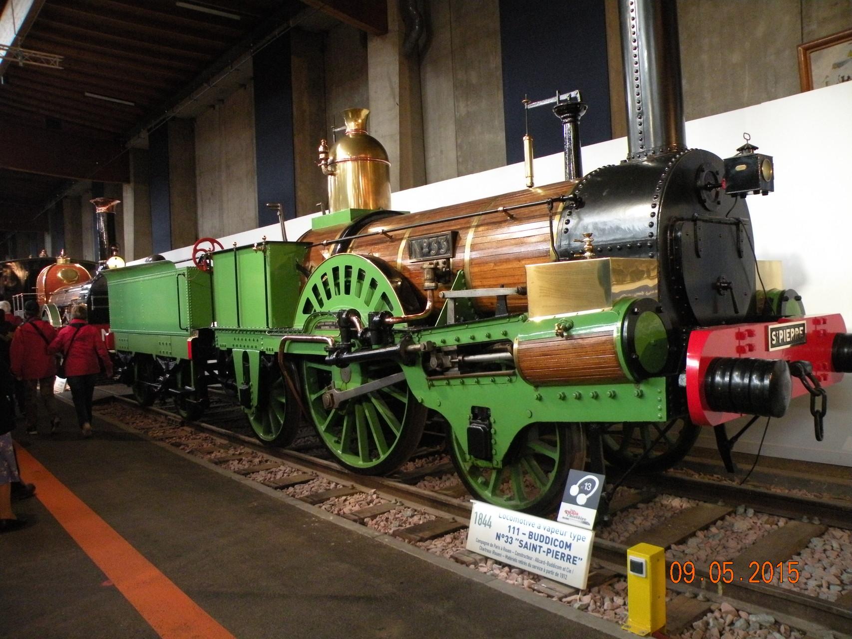 la cité du train à Mulhouse