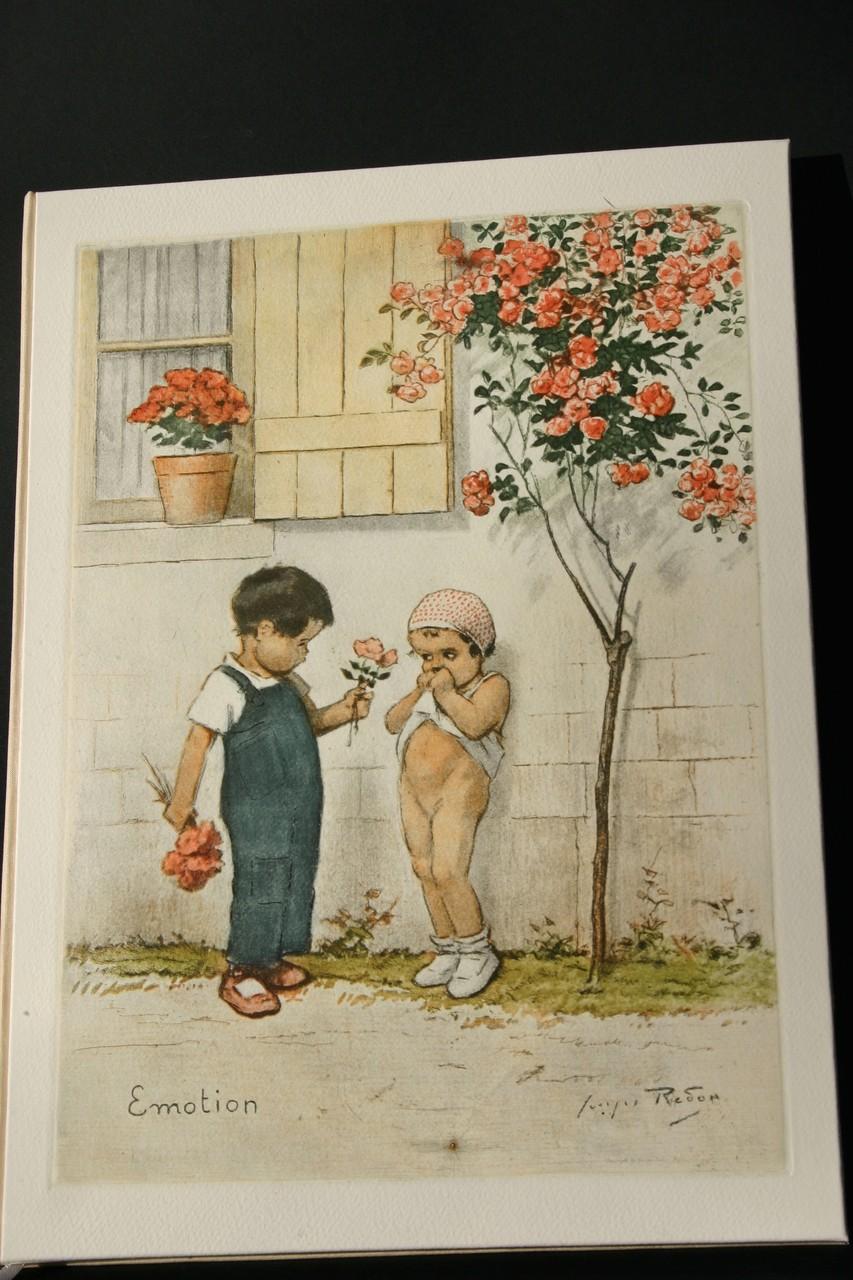 Kinderchronikbuch in Farbdruck