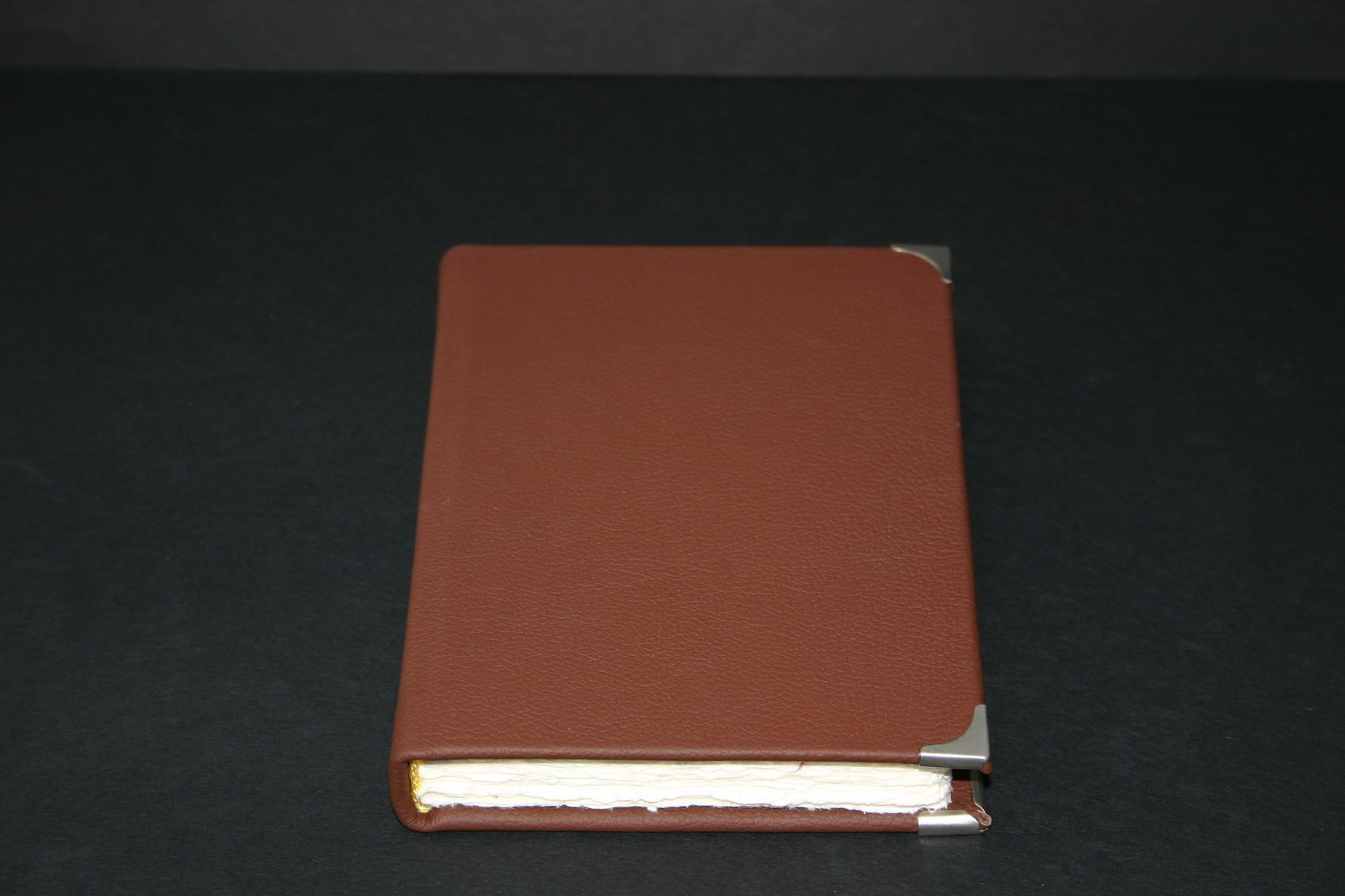 Skizzenbuch in Kalbsleder