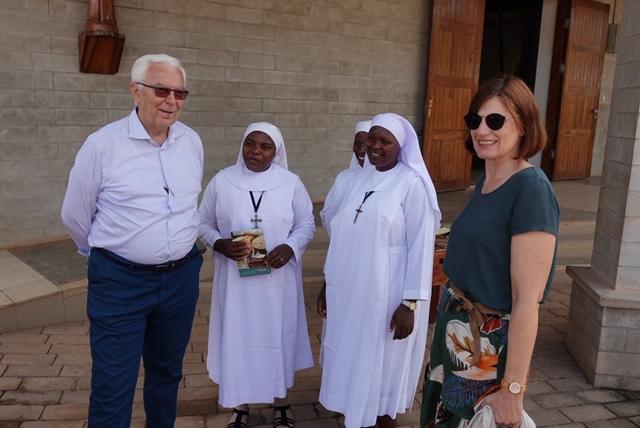 Die ersten drei Benediktiner Schulschwestern sind schon eingezogen.