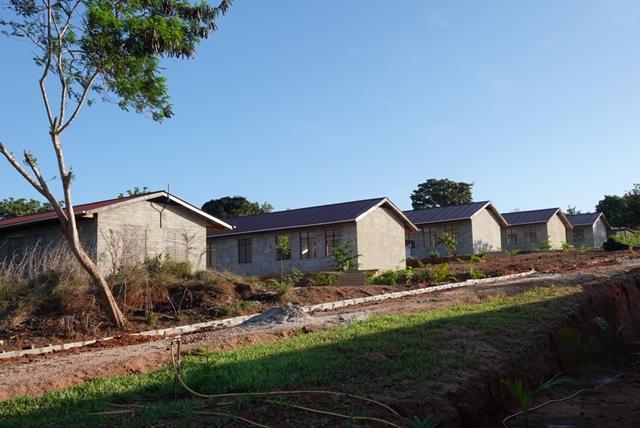 Die neue Schule ist fast fertig. Am 1. Januar startet der Betrieb.