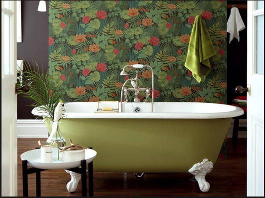 Salle de bains boudoir,
