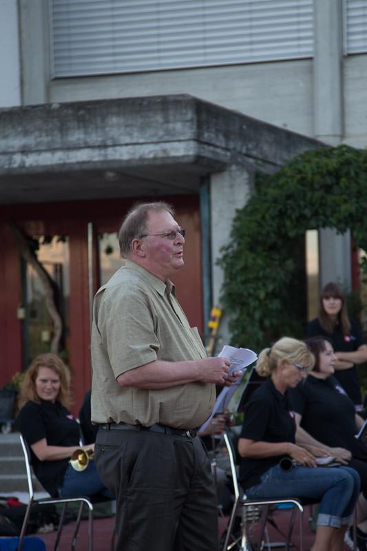 Ansprache durch Christian Kneubühl, Gemeinderatsmitglied und früherer Präsident der MGM
