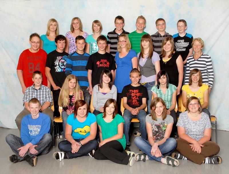 4-b-Klasse (von li. nach re.)