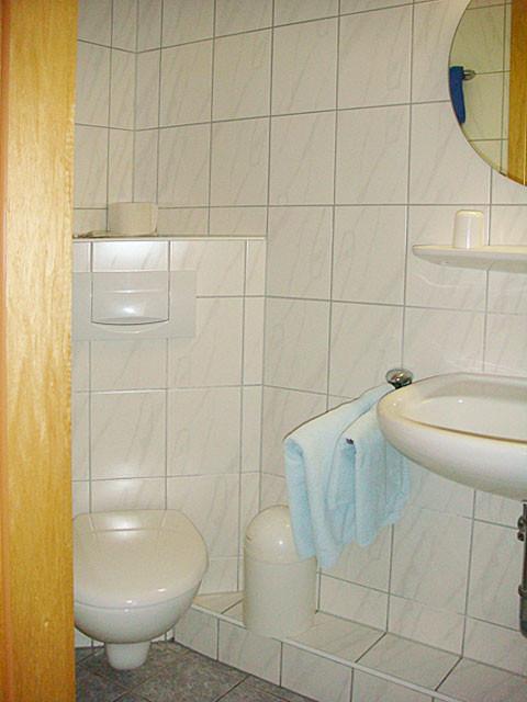 Badezimmer mit WC ...