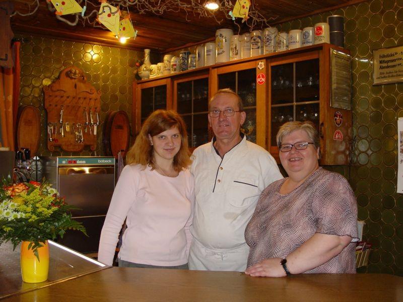 Kathi, Karl-Heinz und Loni