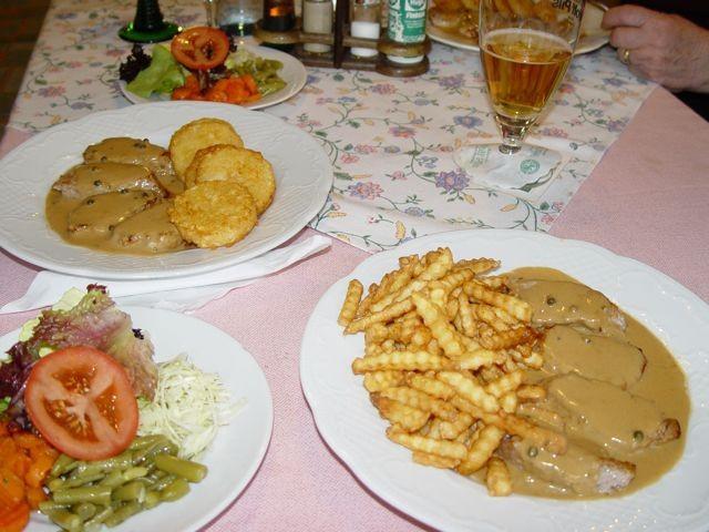 gutbürgerliche Küche ...