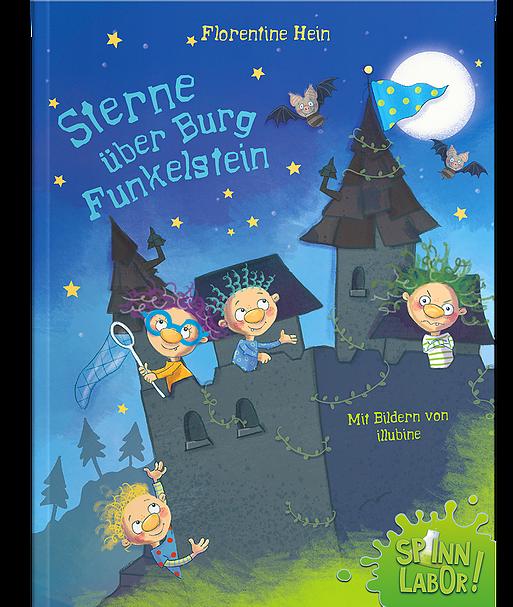 Kinderbuch Sterne über Burg Funkelstein