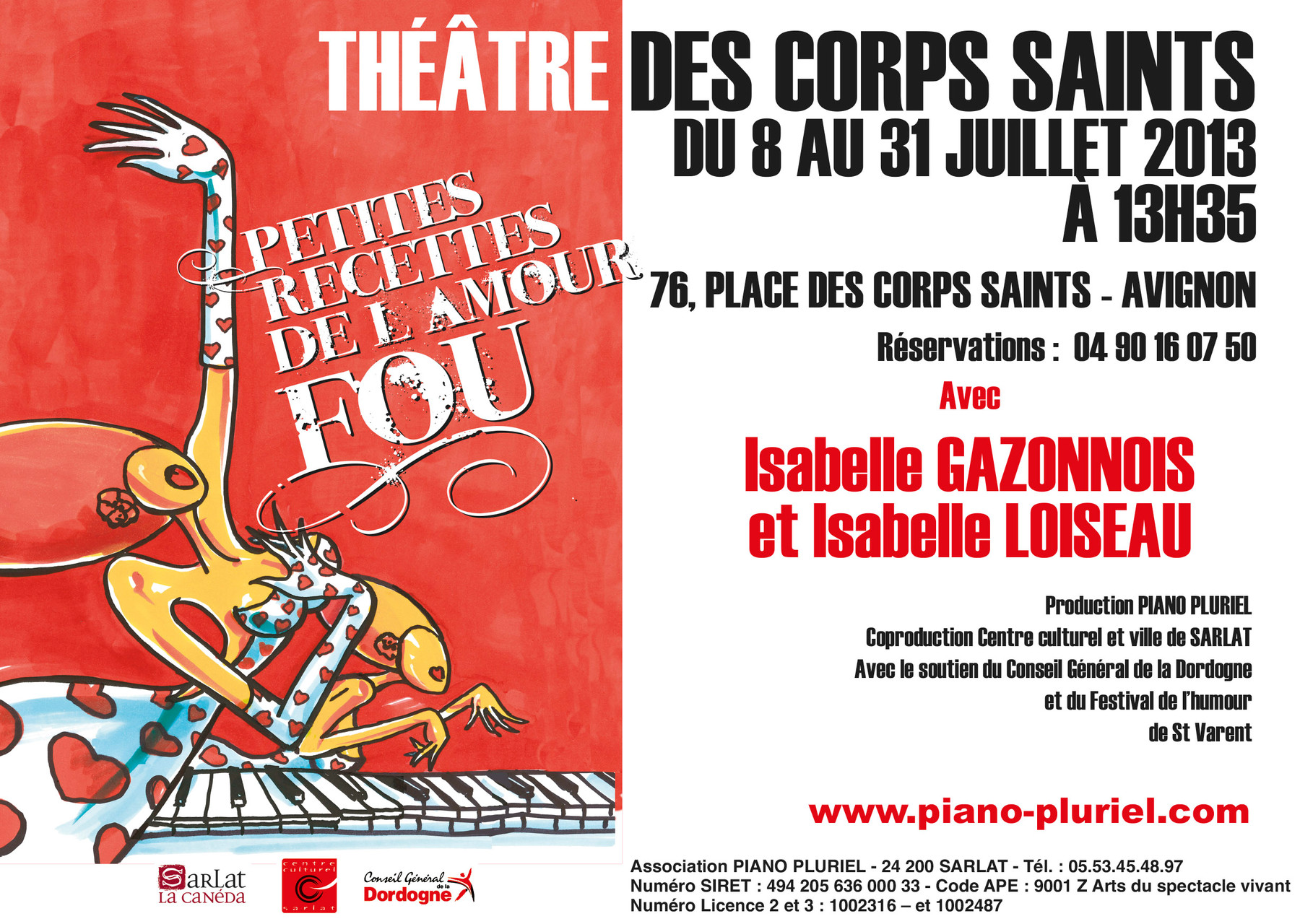 Théâtre des Corps saints Avignon