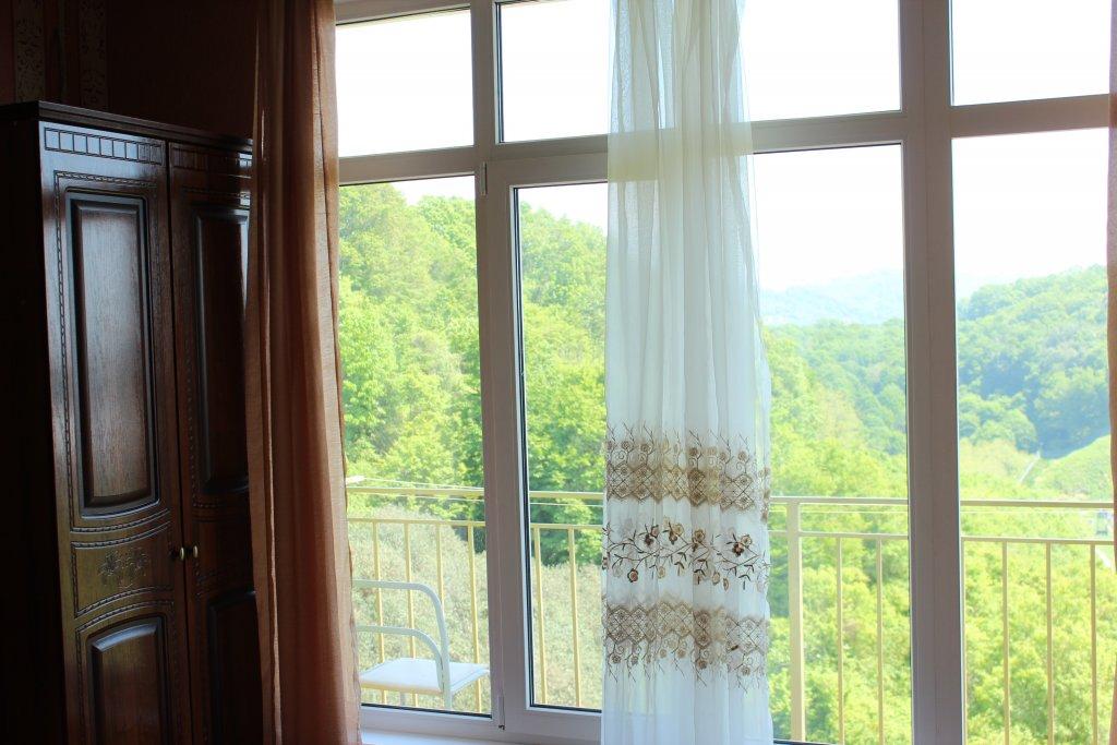 Вид из номера мини-гостиницы Аида
