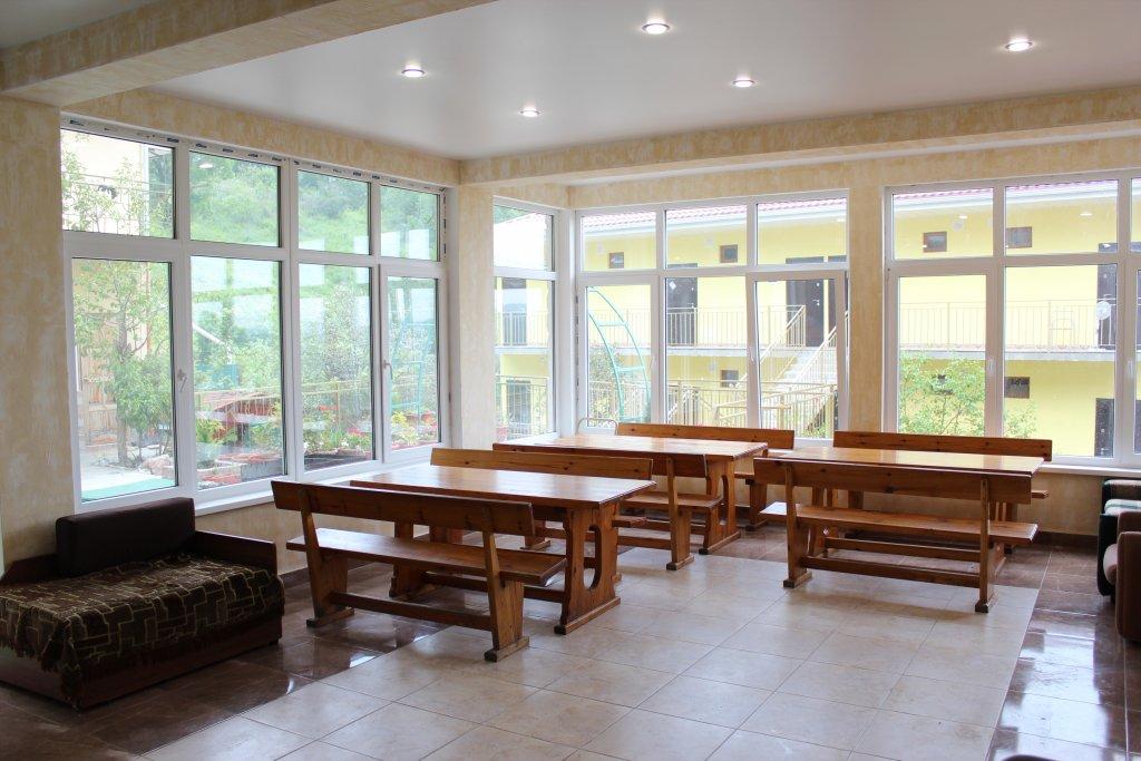 Кухня мини-гостиницы Аида