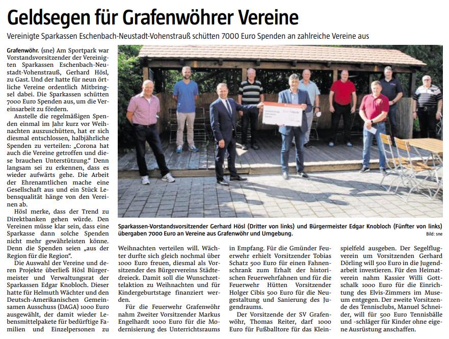 """Zeitung """"Der Neue Tag"""" vom 14.06.2021"""