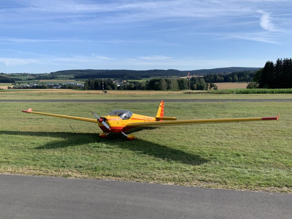 Schulungsflugzeug D-KBCD