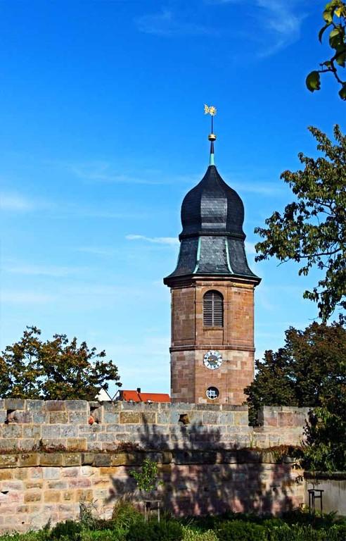 Turm der Predigerkirche(Marktgrafenkirche)