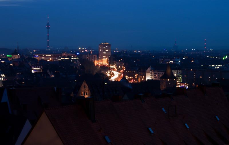 Blick über Nürnberg v. der Kaiserburg