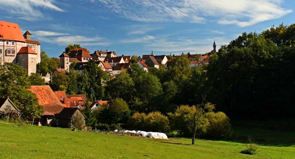 Blick auf das Historische Cadolzburg/Mittelfranken im LDK Fürth
