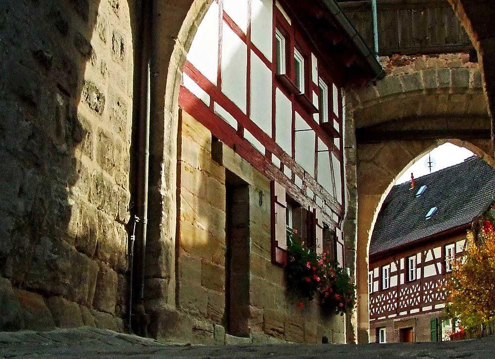 Hohenzollernburg/ Ausgang Vortor, Wachbereich