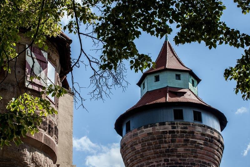 Nürnberg,Kaiserburg/Sinwellturm
