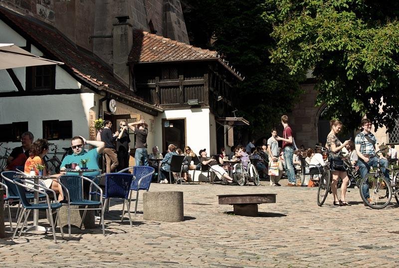 Nürnberger Gemütlichkeit, auf dem Tiergärtnertorplatz