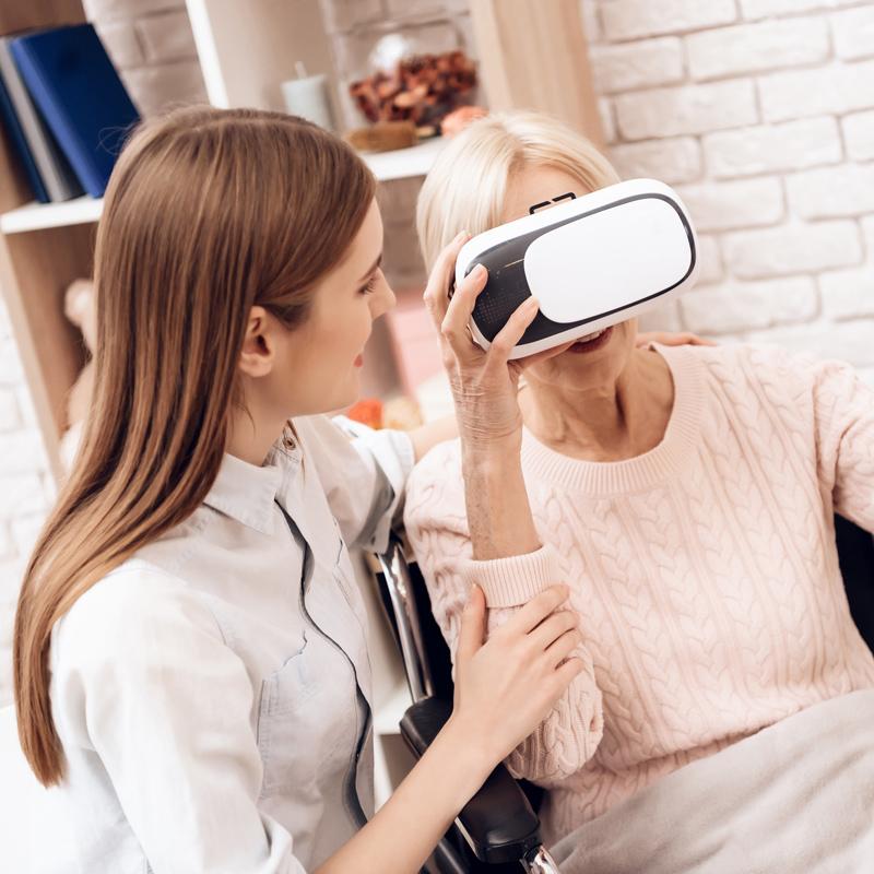 """""""Und plötzlich bewegt sich der Arm!"""" - Virtual Reality in der Ergotherapie"""