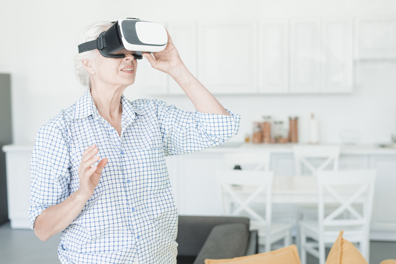 Virtual Reality in der Ergotherapie in Riesa