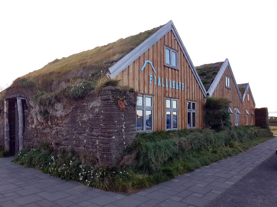 Le restaurant côté du camping de Möðrudalur