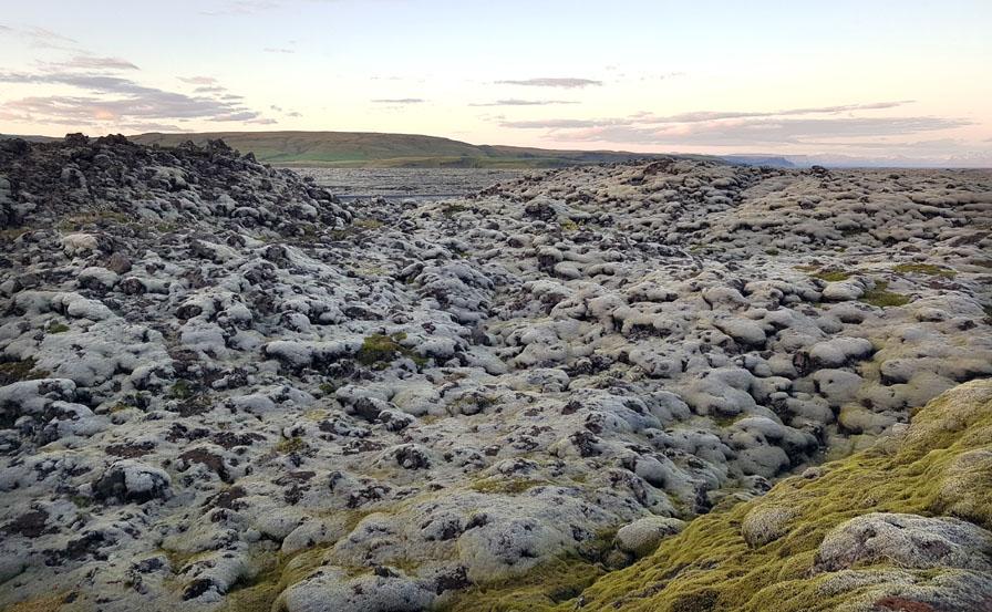 Coulées de lave du Laki, volcan qui a fait des milliers de morts