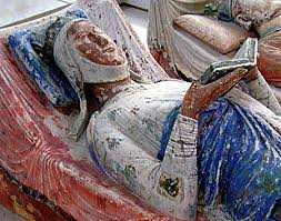 Sculpture abbaye de Fontrevaud (détail)