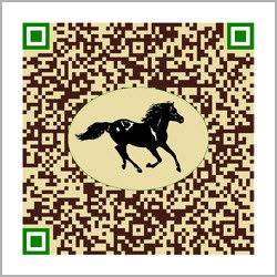 Visitenkarte Design-QR-Code