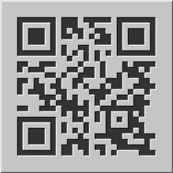 Design-Beispiel »Relief« QR-Code