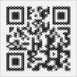 Design-Beispiel »Mosaik« QR-Code